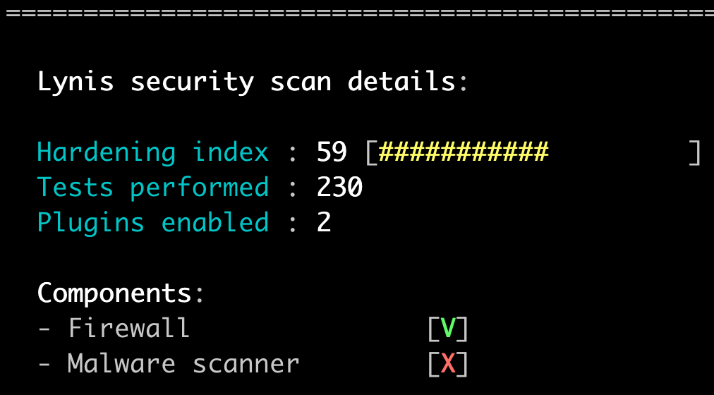 Using Lynis to Audit Linux Security
