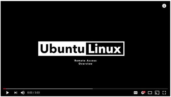 Securing Remote Access For Linux